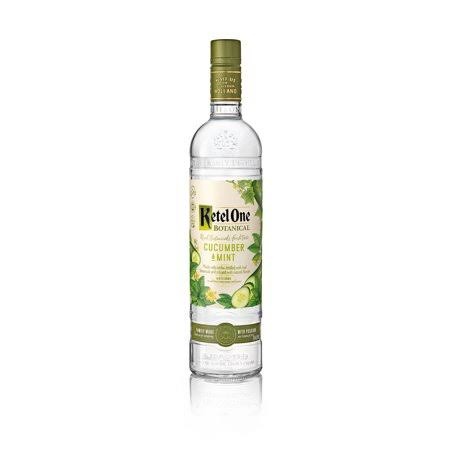 Ketel One Vodka, Cucumber & Mint - 750 ml