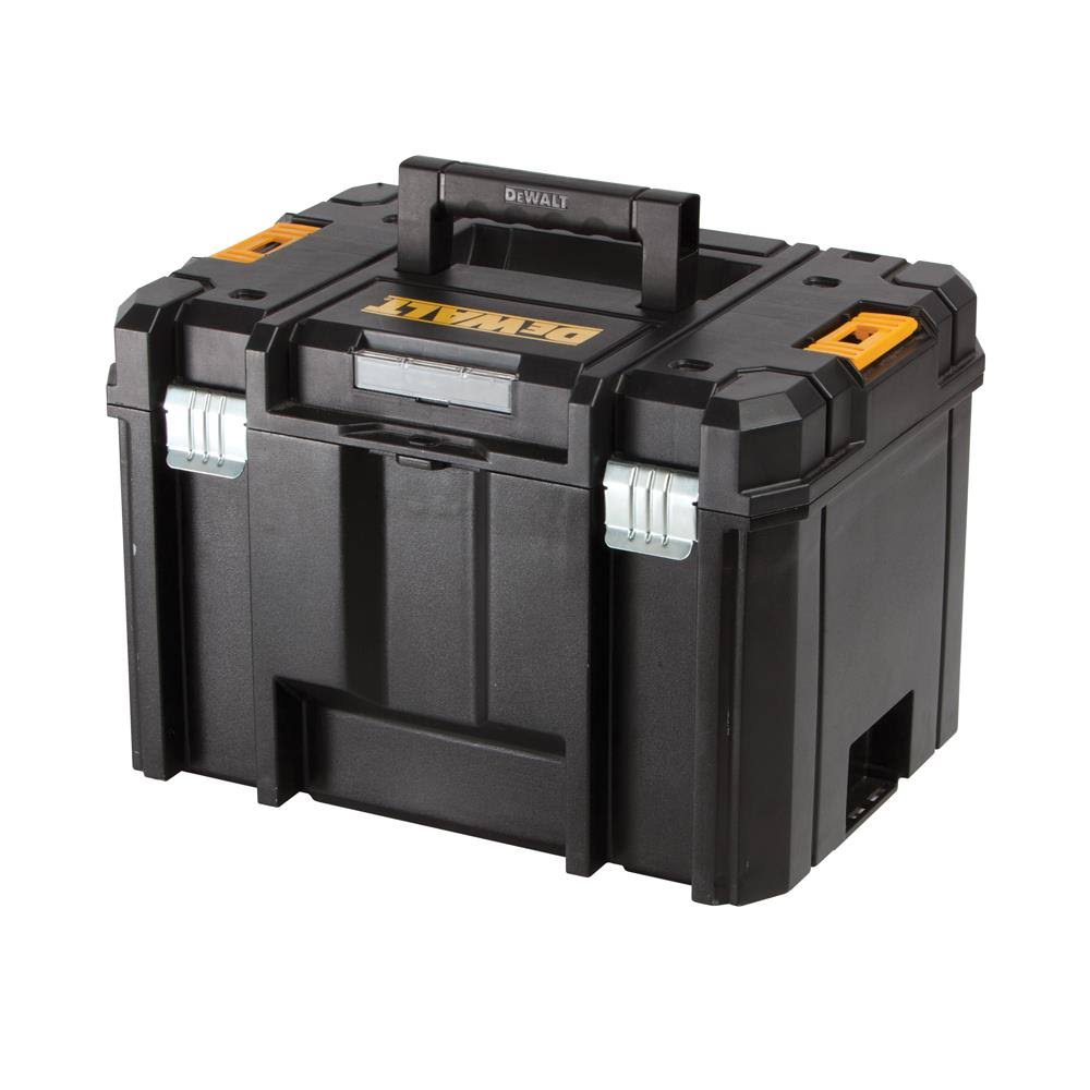 "Dewalt Plastic Deep Empty Toolbox - Black, 11"" X 13"" x 17"""