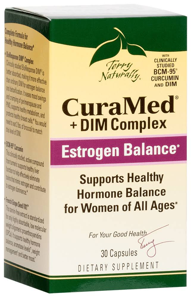 Curamed and Dim Complex Supplement - 30 Capsules
