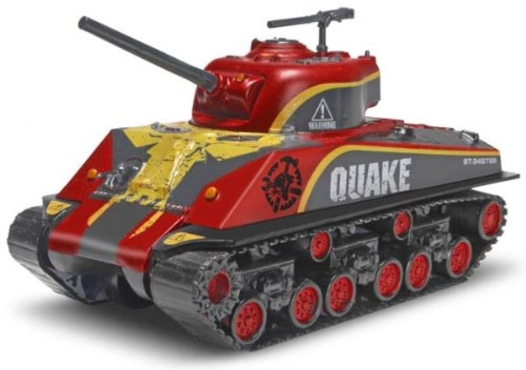 Revell 851754 Quake Sherman Tank Snaptie Model - 1:48 Scale