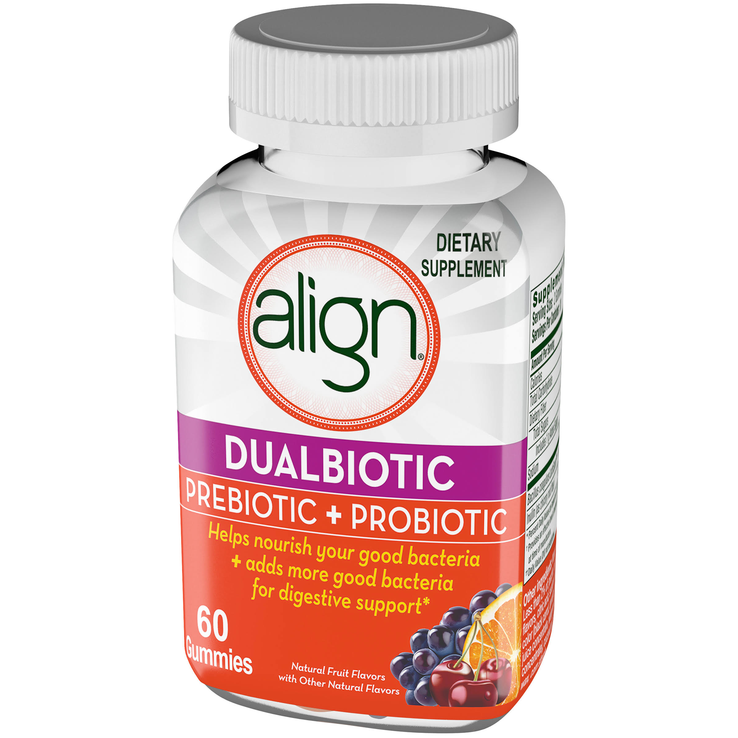 Align Prebiotic Plus Probiotic Supplement - 60ct