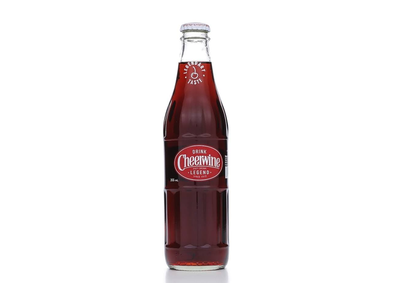 Cheerwine Cherry Soda - 12 fl oz bottle