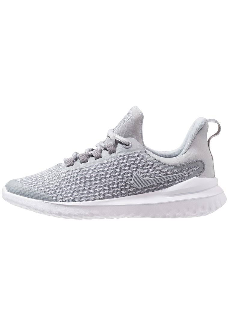 Nike Junior Rival Gs Running Shoes - Stealth/Wolf Grey/White, 38 EU