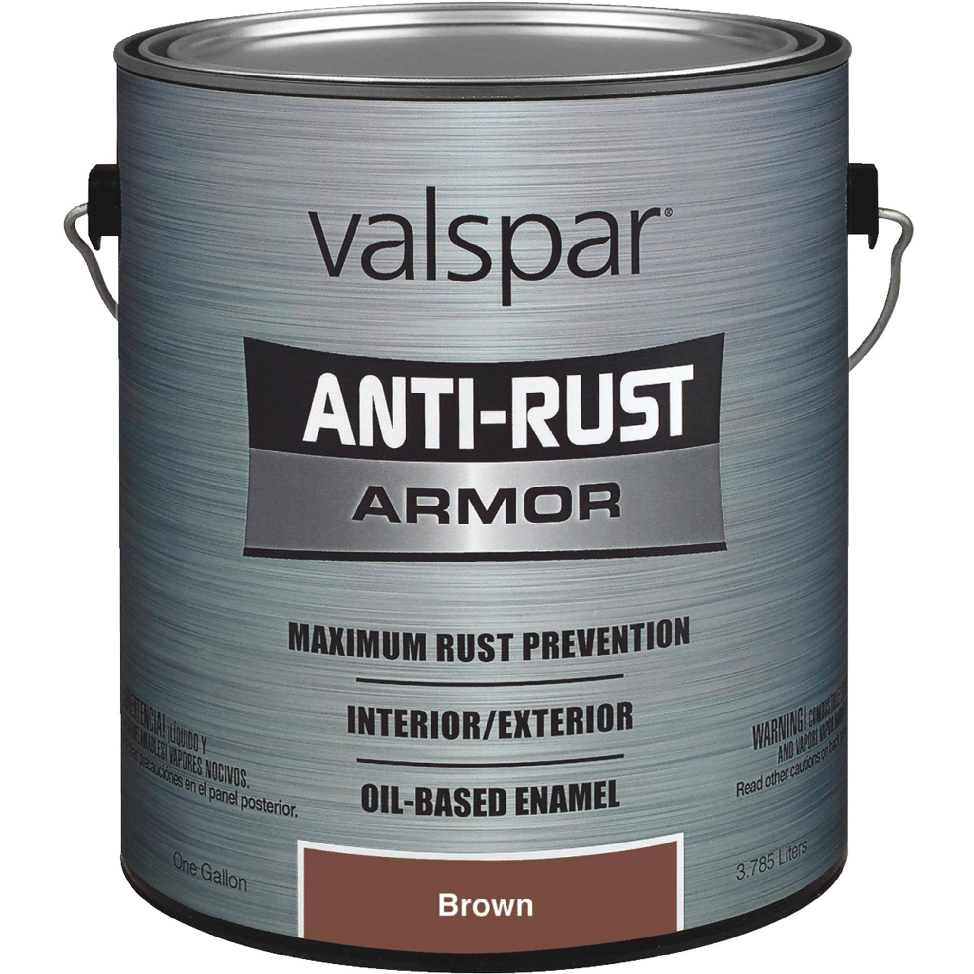 Valspar Anti-Rust Armor Enamel - Brown