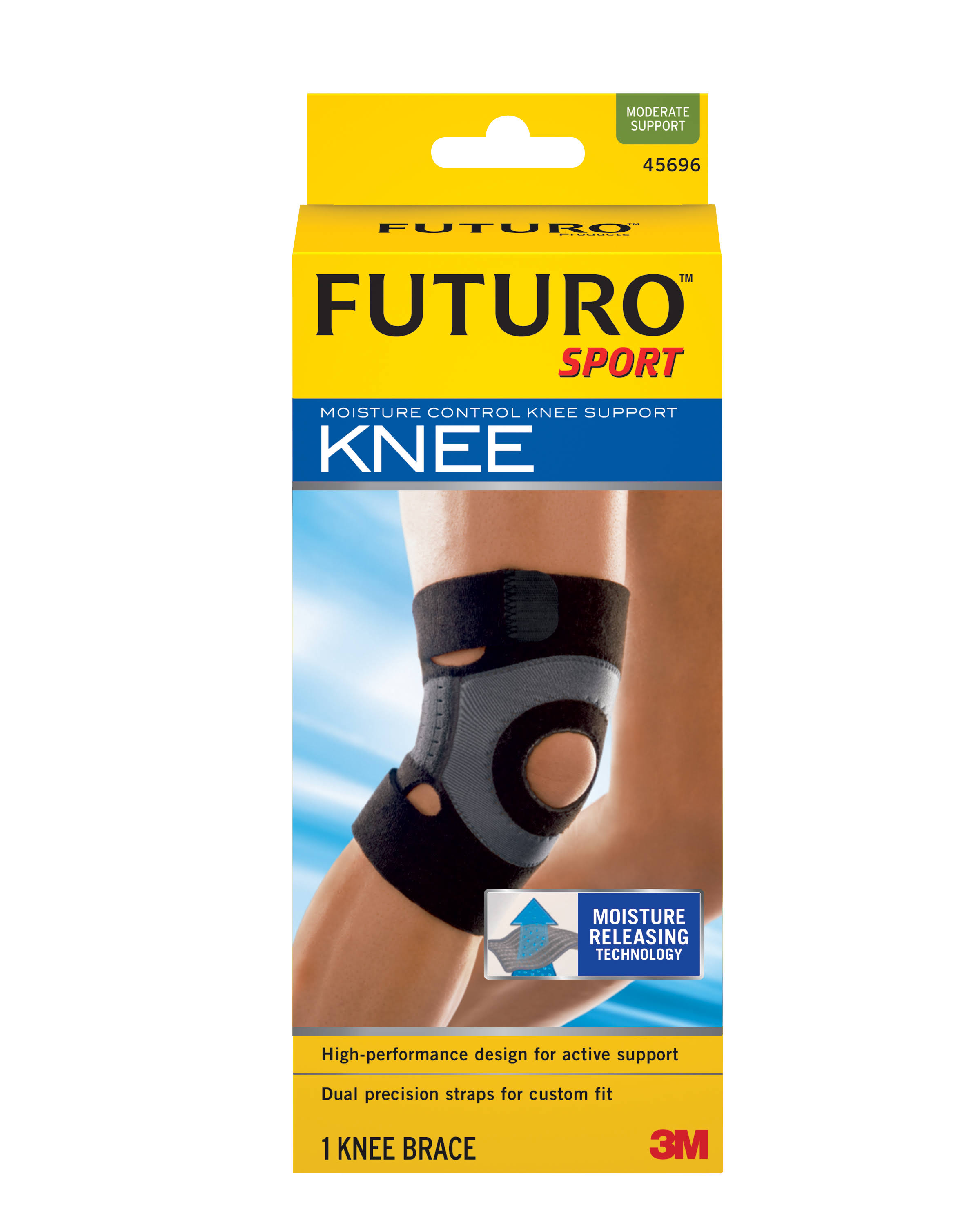 Futuro Sport Moisture Control Knee Support - Medium
