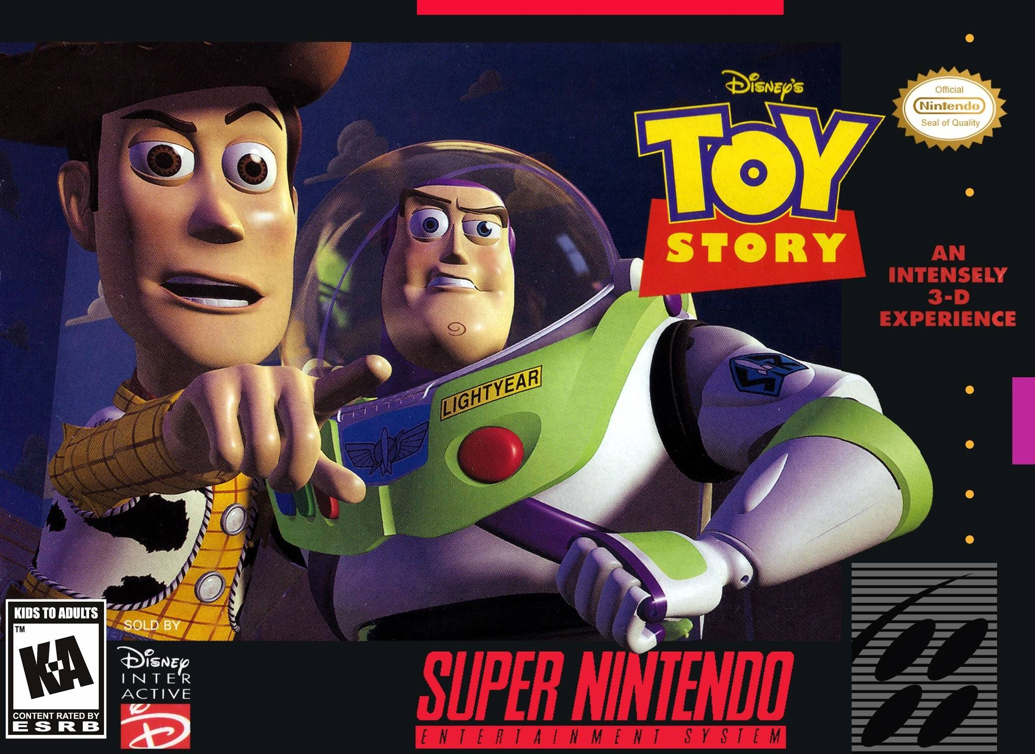 Super Nintendo Toy Story