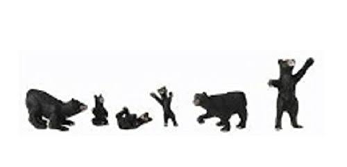 Woodland Scenics A2737 Black Bears (O)