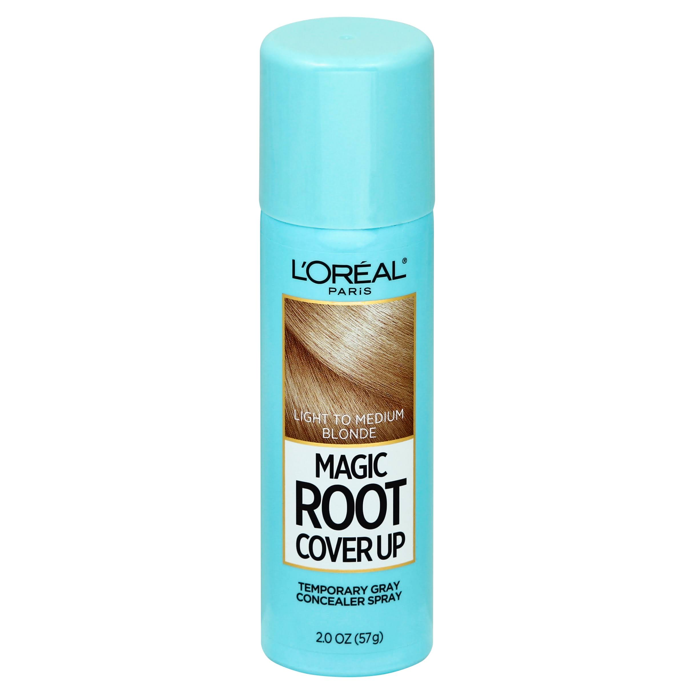 L'oreal Paris Root Cover Up Temporary Gray Concealer Spray - Light to Medium Blonde, 2oz