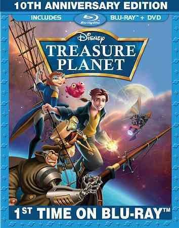 Treasure Planet-10th Anniversary Edition (Blu-ray)
