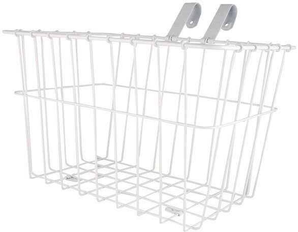 Wald 135wh Bike Grocery Basket - White