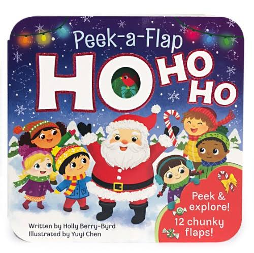 Ho Ho Ho: Peek a Flap Book - Cottage Door Press