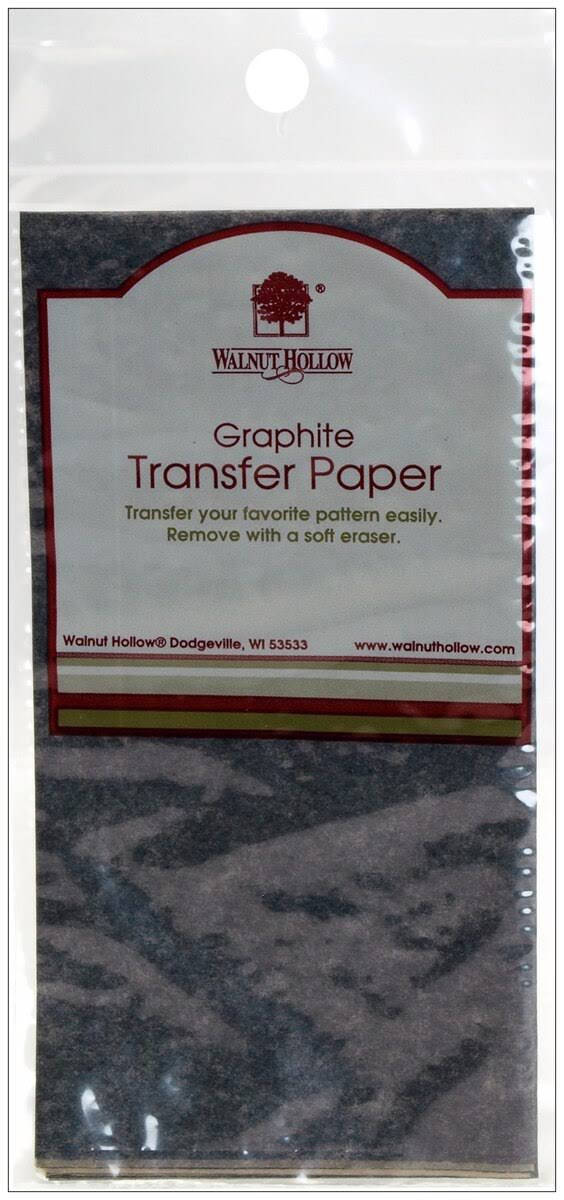 Walnut Hollow Graphite Transfer Paper - 12in x 24in