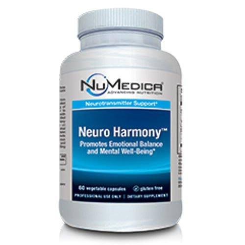 Numedica Neuro Harmony Supplement - 60 Vegetable Capsules