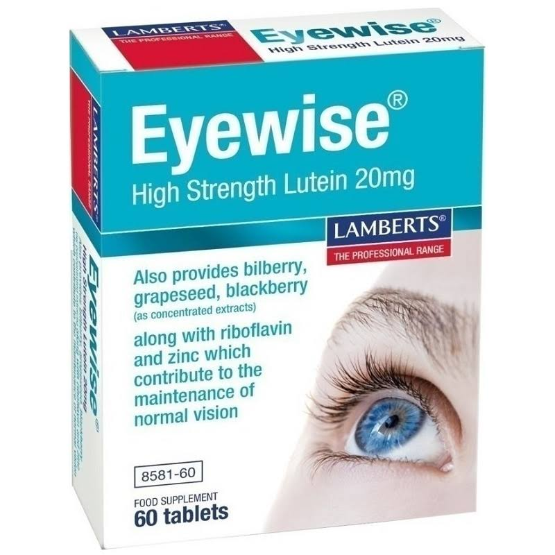 Lamberts Eyewise Food Supplement - 60 Tablets