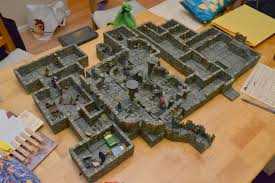 Dungeons And Dragons Tiles Pdf Free by Check Out This Redbrand Hideout From Lost Mine Of Phandelver Made