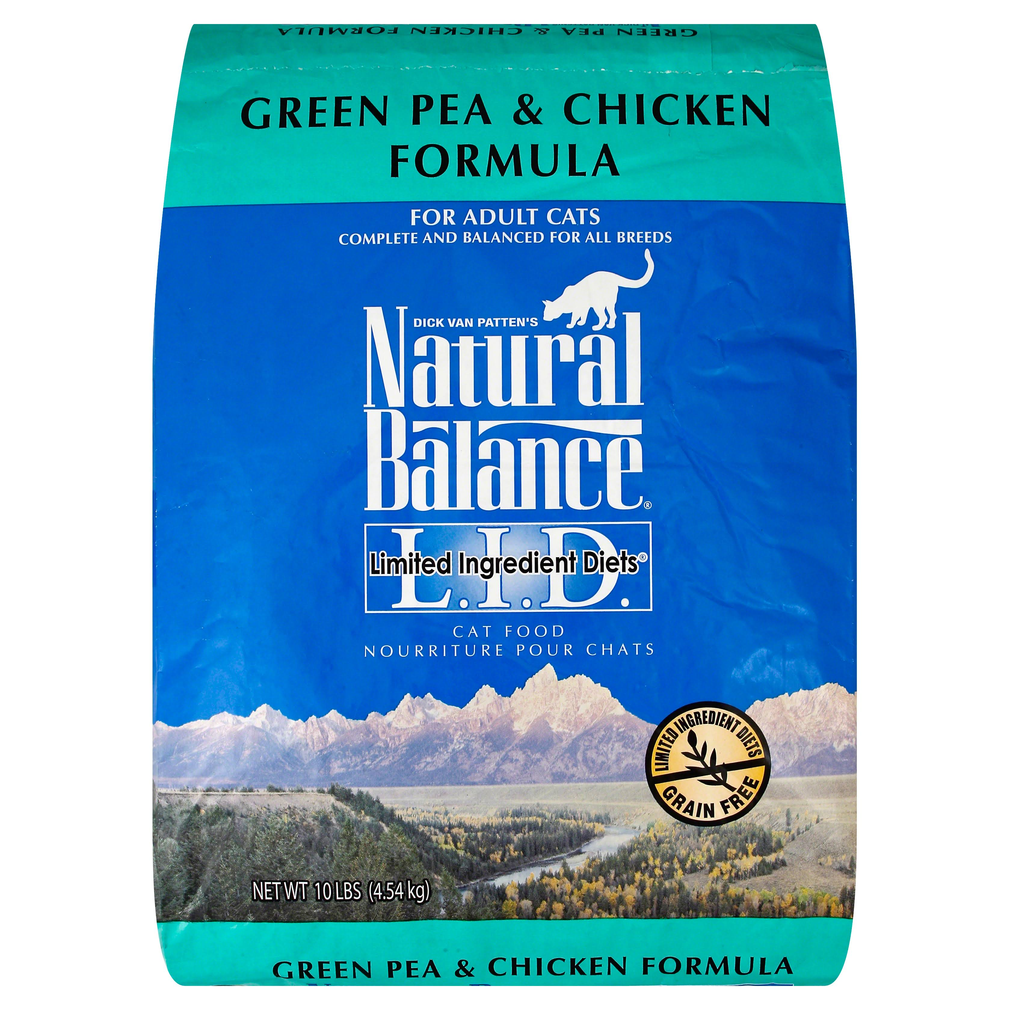 Natural Balance Limited Ingredient Diets Cat Food - Green Pea And Chicken