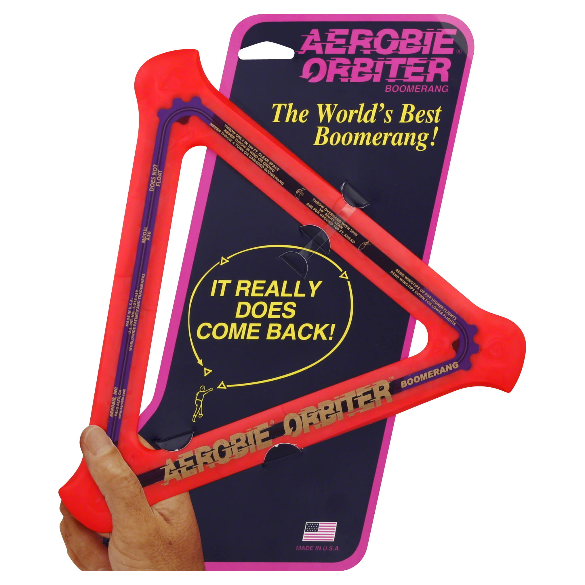 Aerobie Orbiter Boomerang - Assorted Colors