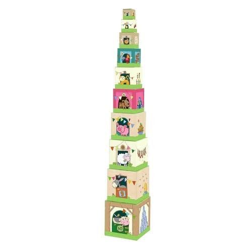 Haba On The Farm Stacking Cubes