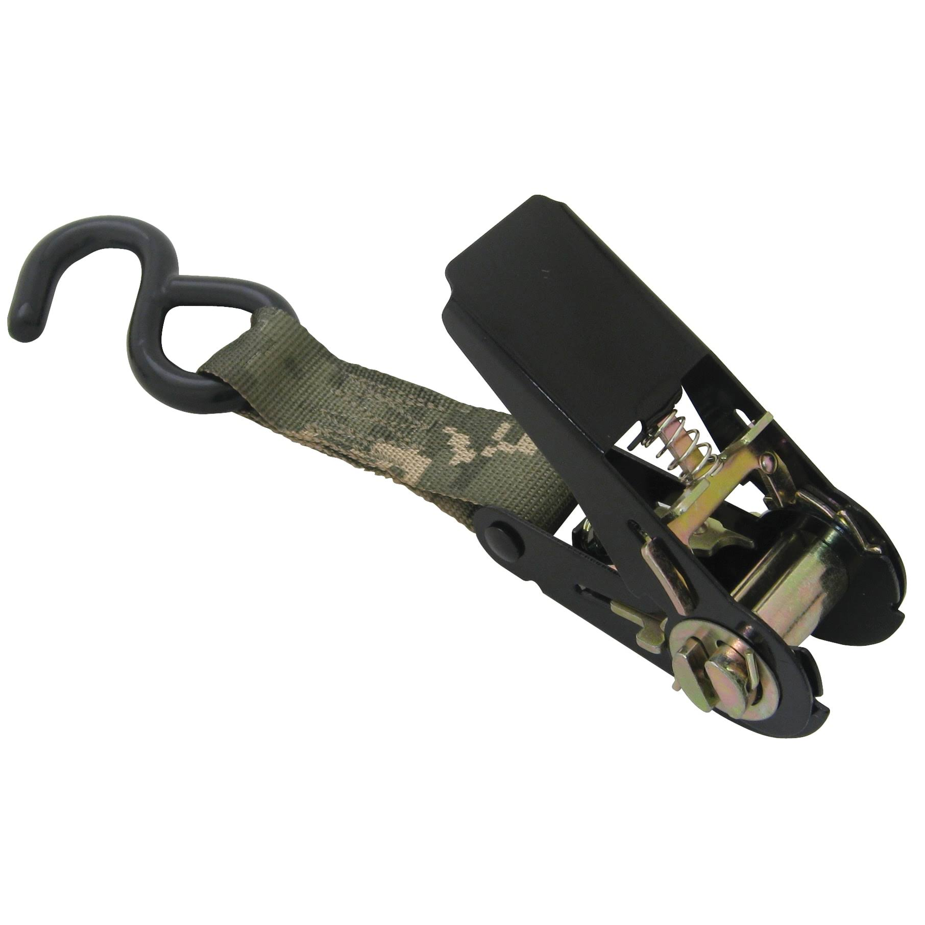 Usa Products Pro Grip Ratchet Tie Down - Camouflage, 9' x 1""