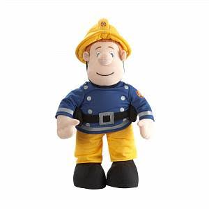 Fireman Sam Plush Toy - 12""