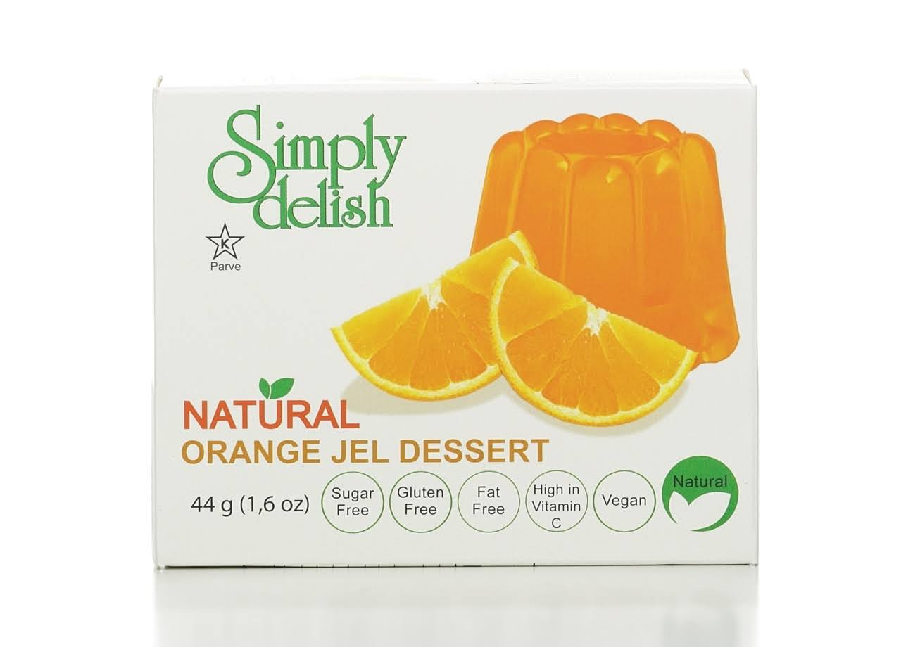 Simply Delish Orange Jel Dessert - 0.7 oz