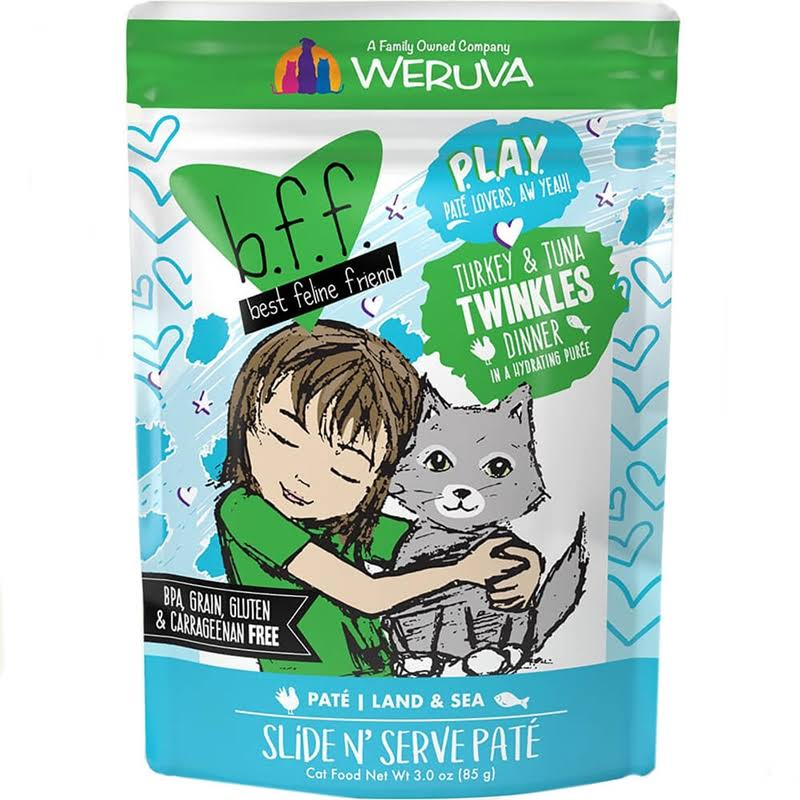Best Feline Friend Play! Twinkles 3.0 oz Pouch