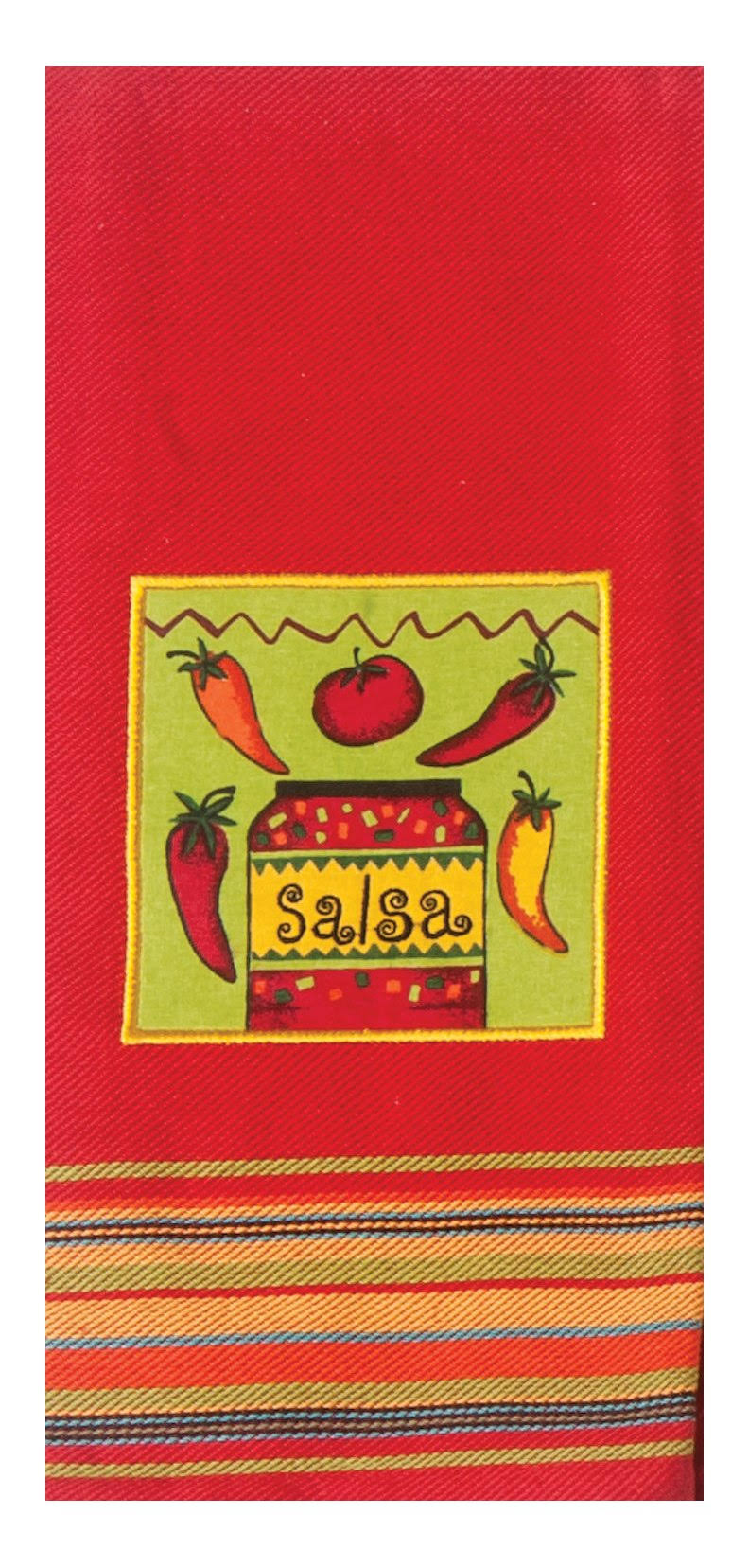 Kay Dee Designs R3038 Salsa Applique Tea Towel