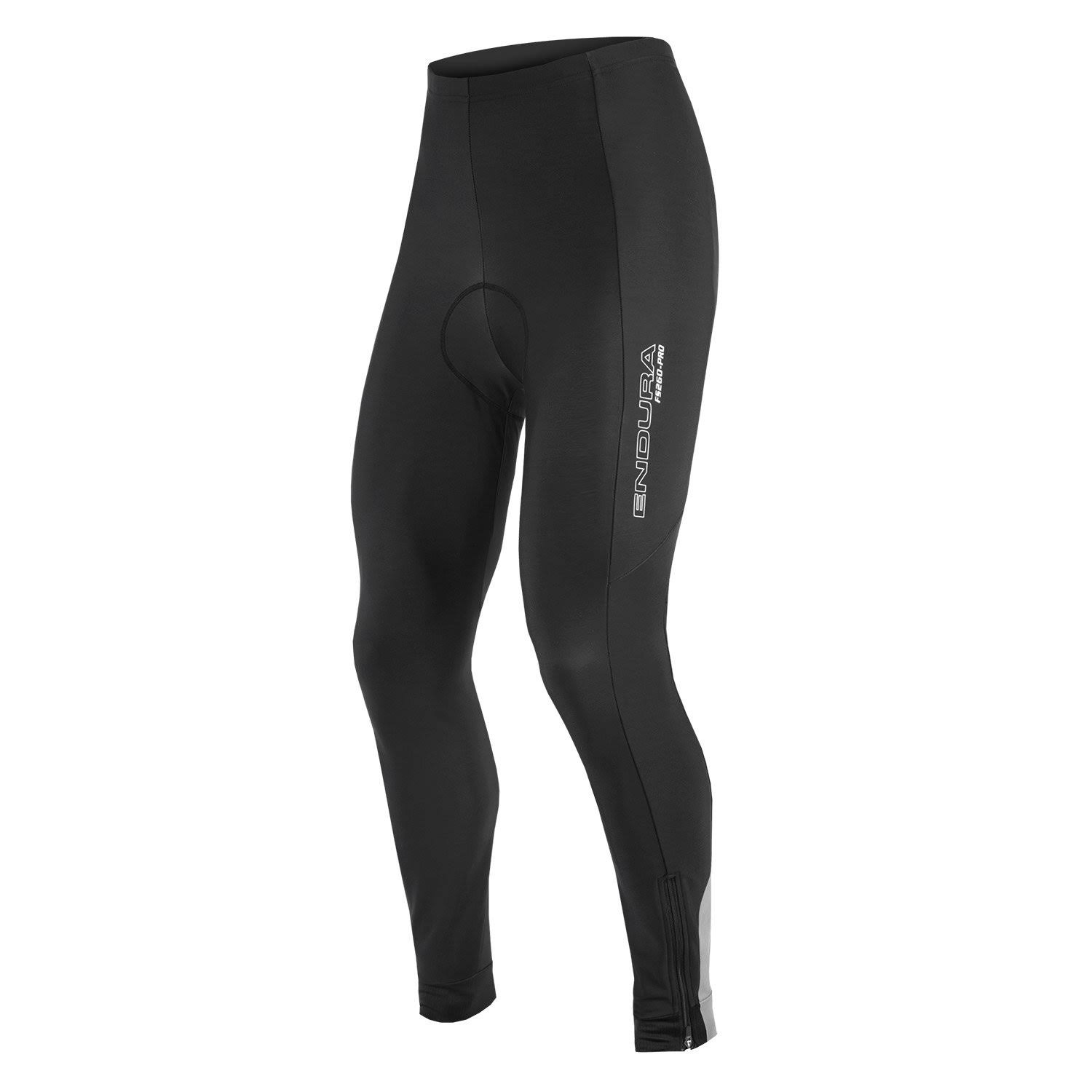 Endura Men's Pro Thermo Tights Road Bike Pants - Black, Large