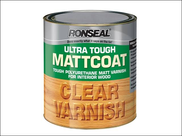 Ronseal Ultra Tough Internal Clear Mattcoat Varnish - 750ml