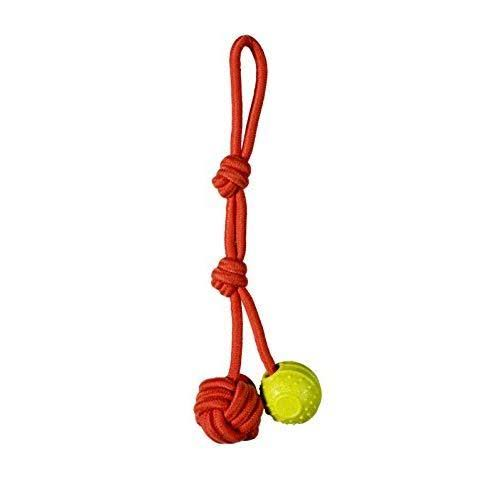 Chase 'N Chomp Oscar Fetch Tug Rope Dog Toy