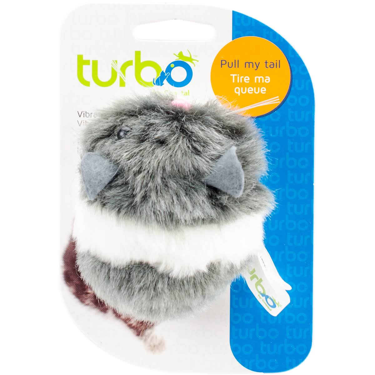 Coastal Turbo Vibrating Cat Toy - Mouse, 3.5""