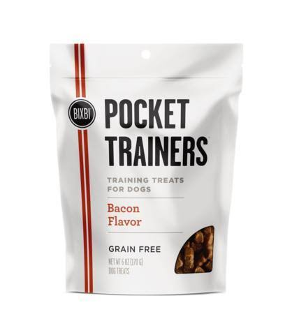 Bixbi Pocket Trainers Bacon 6oz Dog Treats