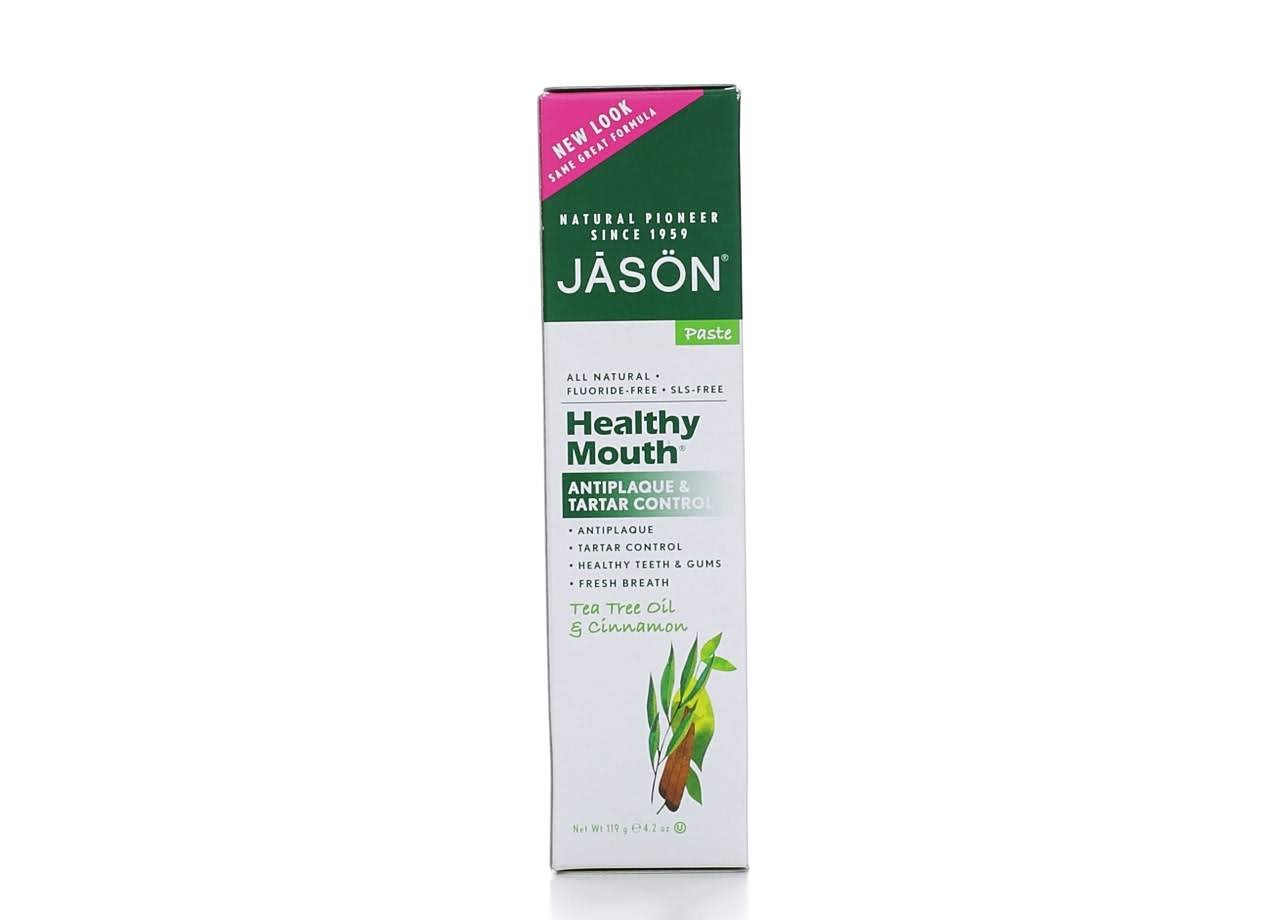 Jason Healthy Mouth Toothpaste - Tea Tree Oil & Cinnamon