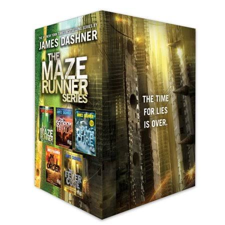 The Maze Runner Series Complete Collection Boxed Set - James Dashner