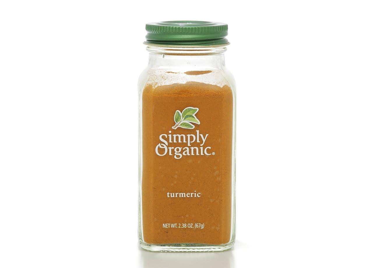 Simply Organic Turmeric Root - Ground, 67g