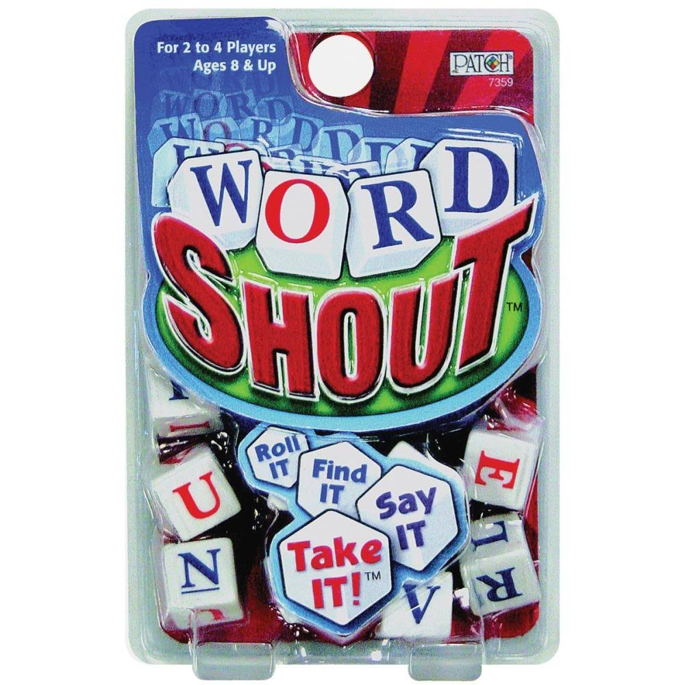Patch 7359 Word Shout Dice Game
