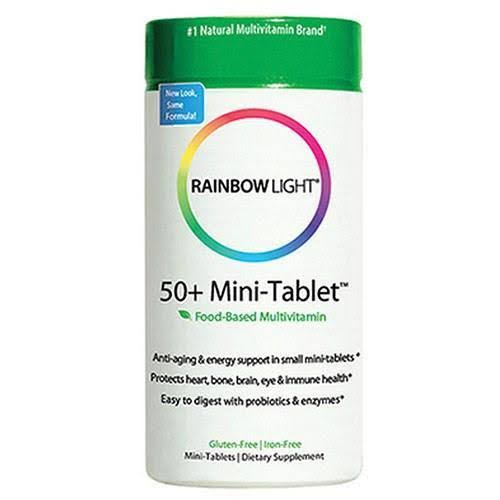 Rainbow Light 50+ Mini-Tab Dietary Supplement - 90 Tablets