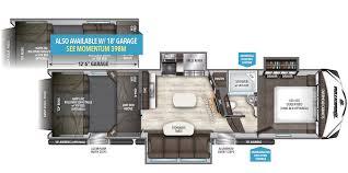 5th Wheel Toy Hauler Floor Plans by 348m Grand Design