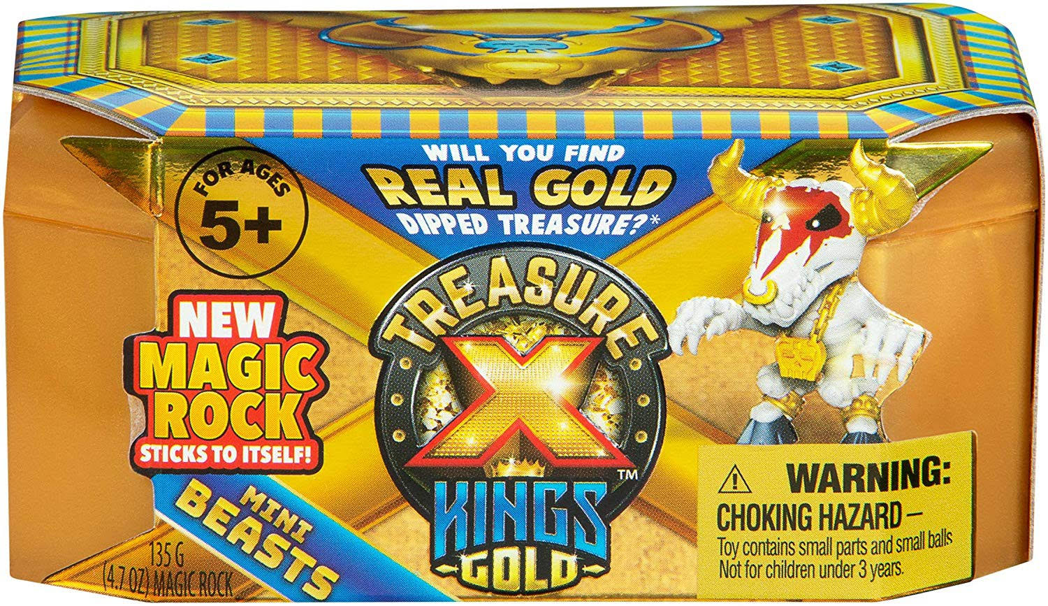 Moose Toys Treasure x Kings Gold - Mini Beasts Single Blind Pack