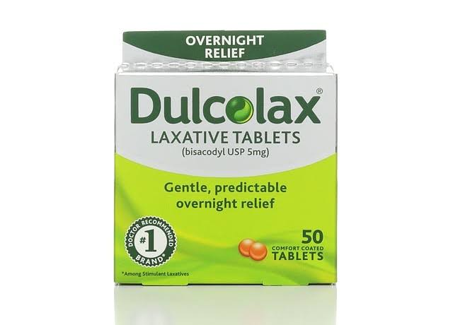 Dulcolax Laxative Comfort Coated Tablets - x50