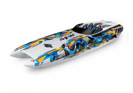 "Traxxas M41 Catamaran: Brushless 40"" RC Boat"