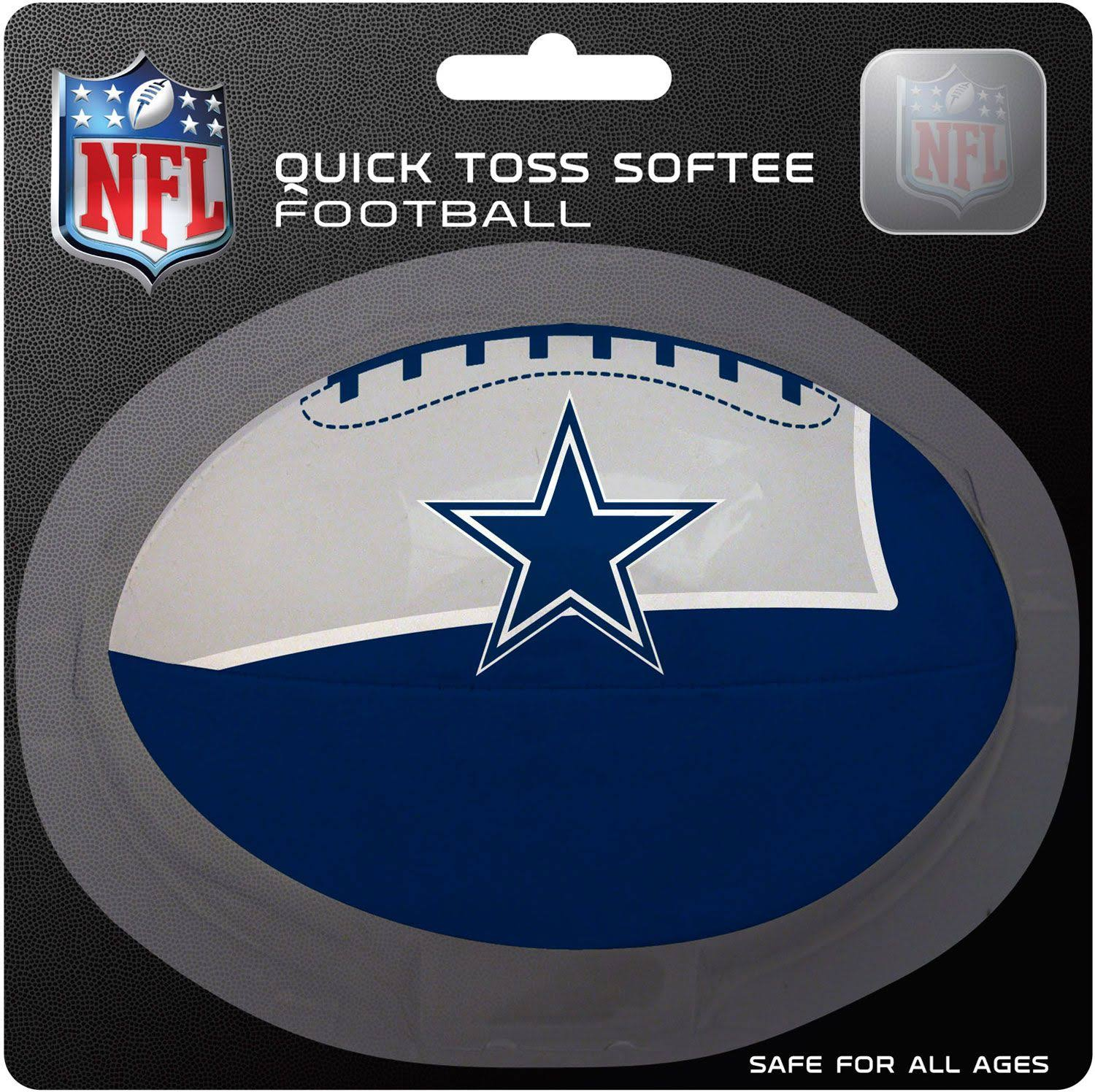 Dallas Cowboys Quick Toss Softee Football
