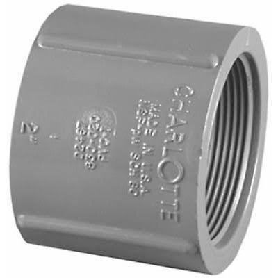 Charlotte Pipe PVC Sch 80 Coupling - 1in