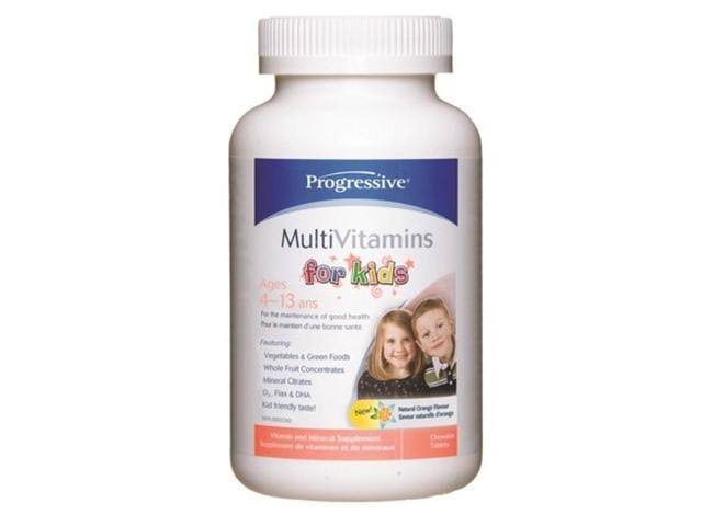 Progressive Multivitamins For Kids - 120tab