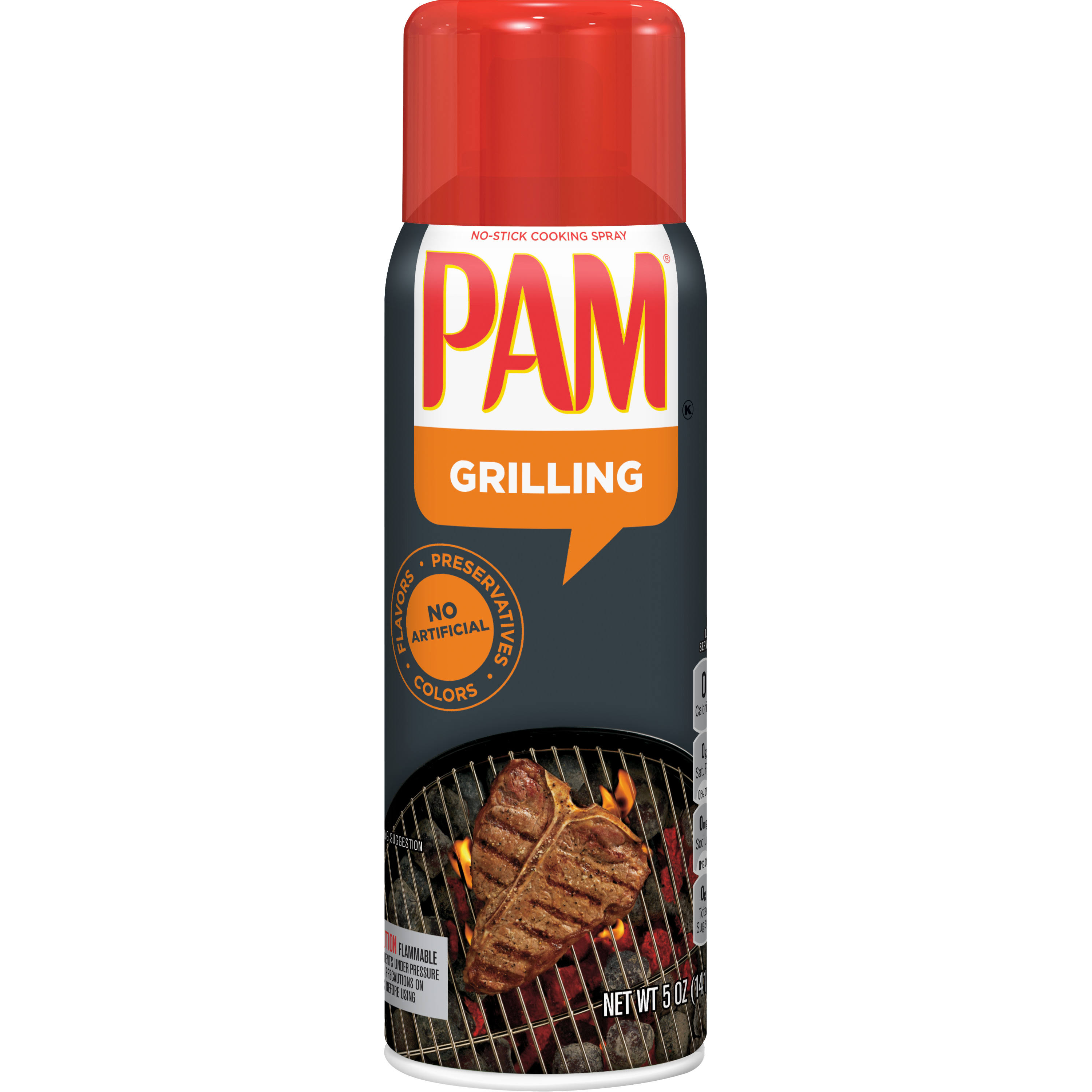 Pam Grilling No-Stick Cooking Spray - 5oz