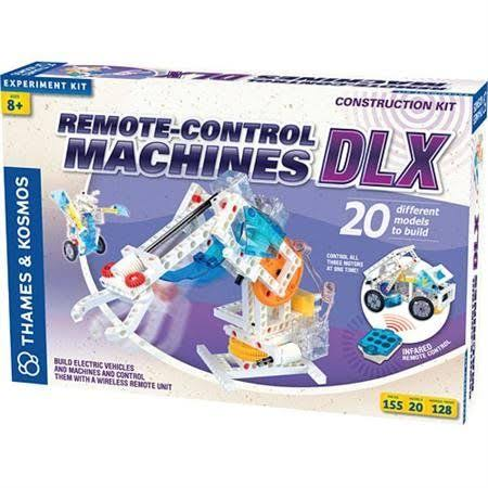 Thames & Kosmos Remote-Control Machines: DLX Science Experiment Kit