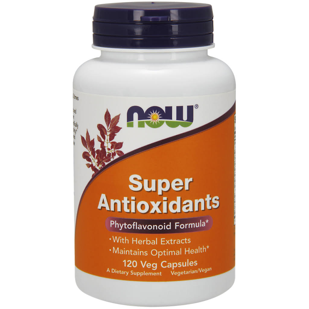 Now Foods, Super Antioxidants Dietary Supplement - 120 Vcaps