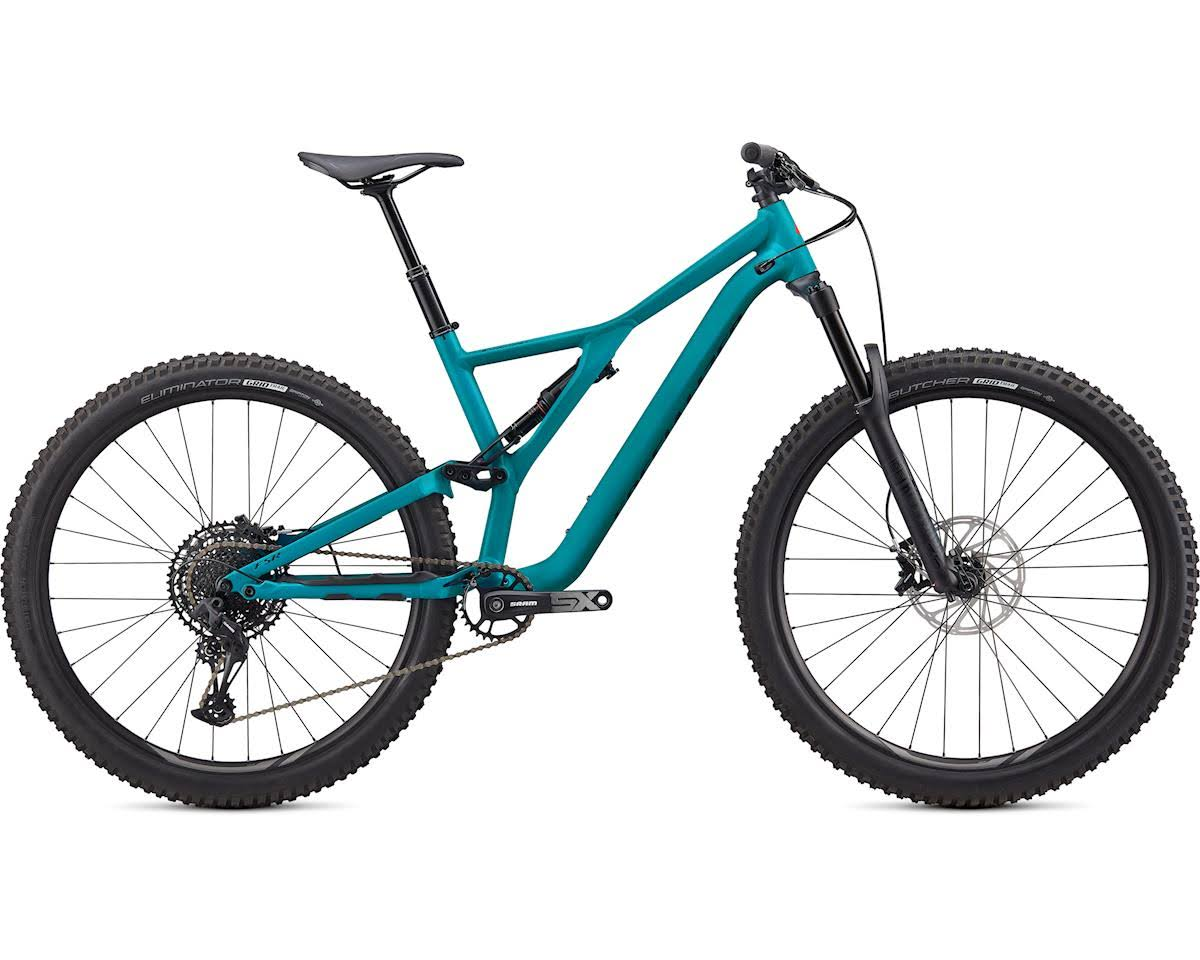 Specialized 2020 Stumpjumper 29 Bike-Satin Aqua/Rocket Red/Black