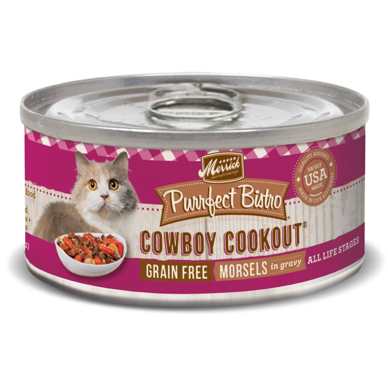 Merrick Cowboy Cookout Meat - 5 1/2oz, 24 Count