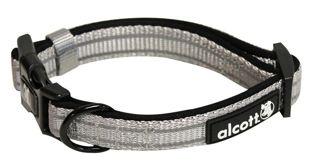Alcott Adventure Dog Collar Small Grey